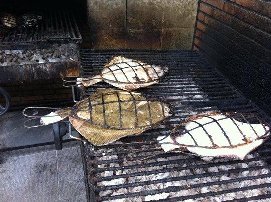 Restaurante Elkano: Del la barca a la brasa
