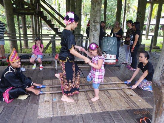 Permai Rainforest Resort: культурная деревня