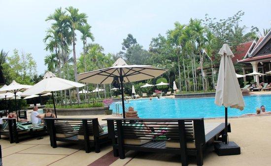 The Privilege Floor @Borei Angkor: Pool Area