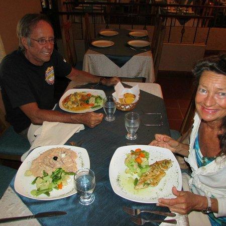 Restaurante Machu Picchu : horrible creamy mariscos...smallish portion fish fillets...fails on  bang for the buck