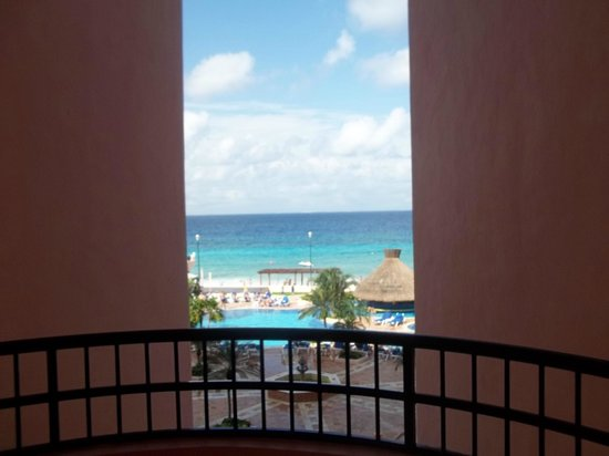 El Cozumeleño Beach Resort: from the second floor