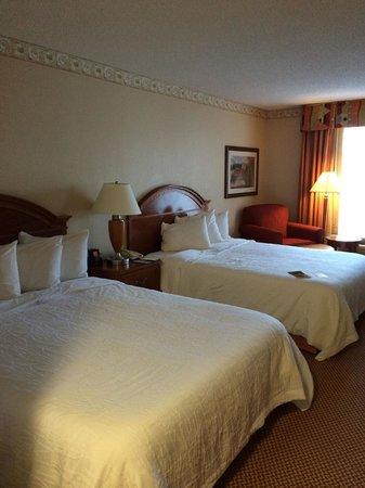 Hilton Garden Inn Gettysburg : Spacious bedroom