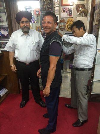 Rajawongse Clothier : With the Master himself, Jesse Gulati