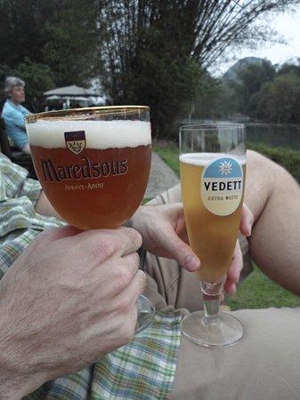 Yangshuo Mountain Retreat : A nice selection of Belgium beers to enjoy
