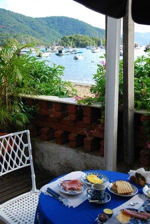 Pousada Mara E Claude: vue depuis la terrasse de la maison