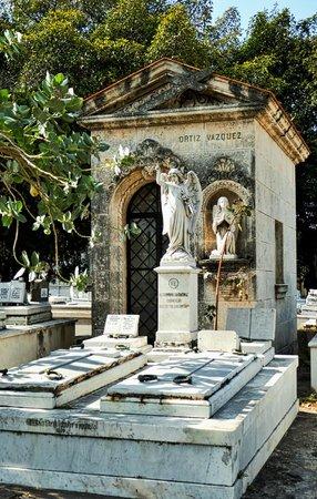 Christopher Columbus Cemetery (Cemetario de Colon): Ortiz Vasquez cemetery plot in Necrópolis Colón