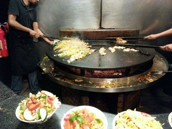 The Mongolian Barbeque: BBQ