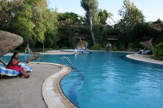 Kuriftu Resort & Spa Bahir Dar: Resort living in Bahir dar Ethiopia.