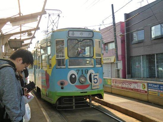 Hakodate Tram: 広告ラッピング車両