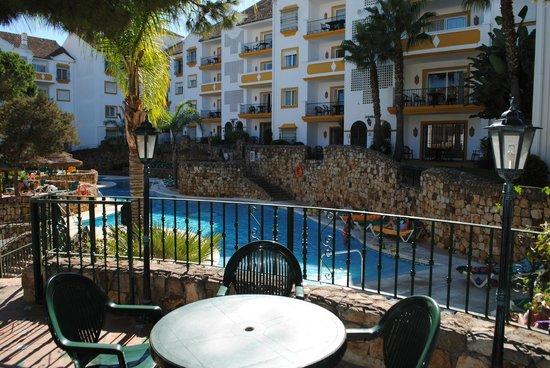 Alanda Club Marbella: View from the bar