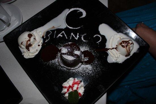 Bianco Restaurant: Десерт.