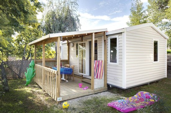 Camping La Presqu'ile de Giens : mobile home bungalow giens alize