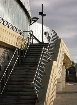 Arena and Convention Centre Liverpool: Stairs to the Conference centre