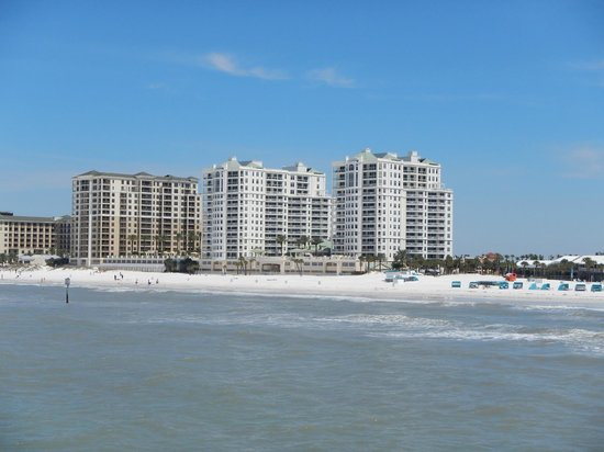 Clearwater Beach: View of the beach from the Pier