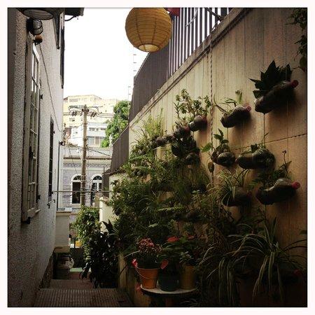 Casalegre Art Vila B&B - Santa Teresa: vue depuis la terrasse du petit dej