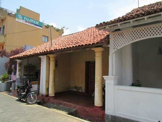 Old Town of Galle and its Fortifications: Old houses of Galle
