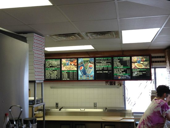 Roma Pizza & Subs: Menu