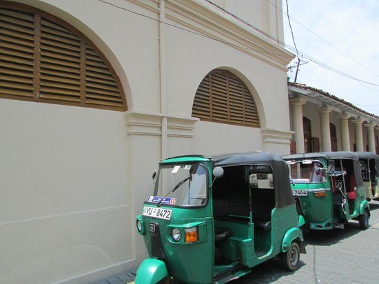 Old Town of Galle and its Fortifications: Tuk tuks