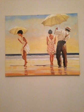 Inn the Tuarts Guest Lodge Busselton: Painting in Room 2 that I fell in love with