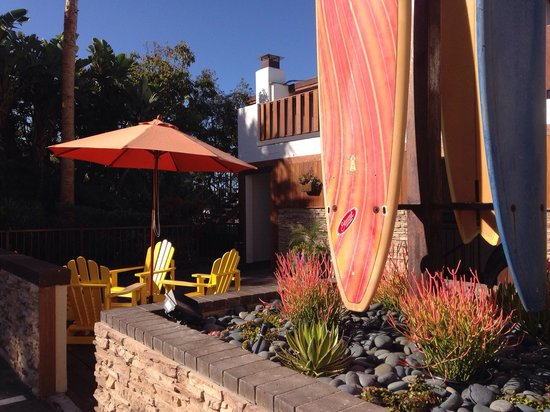 Pacific Edge Hotel on Laguna Beach: Beachy nooks and sitting areas