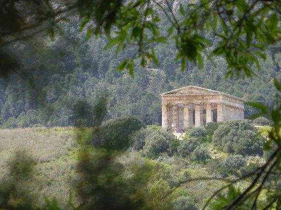 Tempio di Segesta: Mal eine andere Perspektive