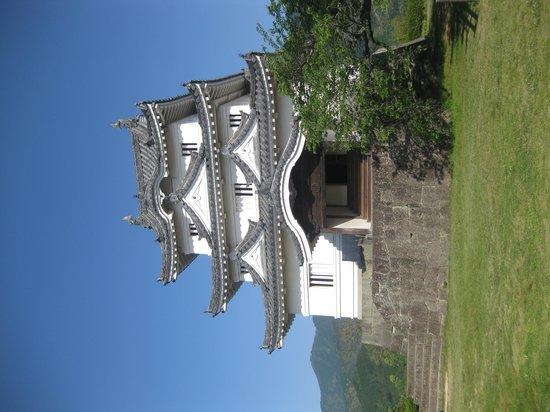 Uwajima Castle: 天守閣の外観