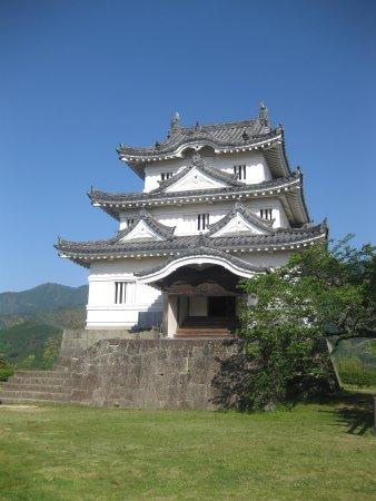 Uwajima Castle : 天守閣の外観