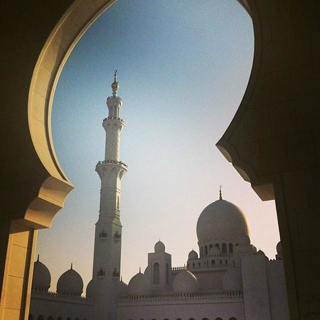 Mezquita Sheikh Zayed: Main Prayer Hall at Dusk