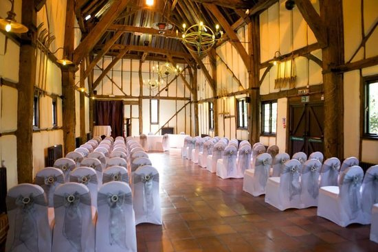 The Barns Hotel: Ceremony in the Tithe Barn