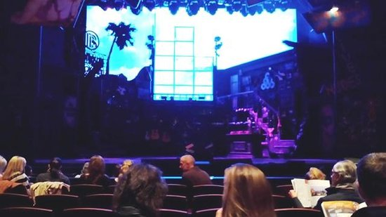 The Denver Center for the Performing Arts: Rock of Ages stage before the show