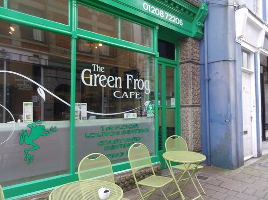 The Green Frog Cafe and Tea Room: The Green Frog