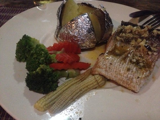 Koh Ngai Camping Restaurant: Fish