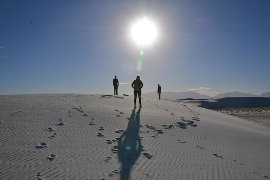 White Sands National Monument : beautiful