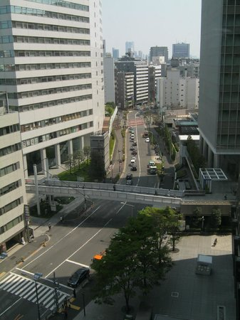 Hotel Sunroute Plaza Shinjuku : The view from our room