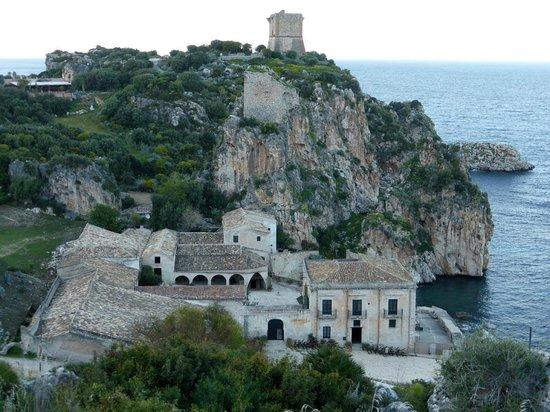 Tonnara di Scopello : Einblick von Südwesten