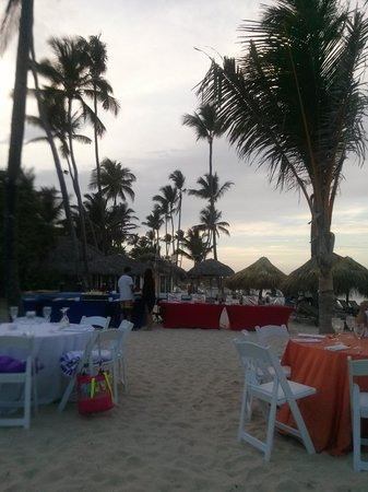 The Reserve at Paradisus Punta Cana : bbq on the beach.