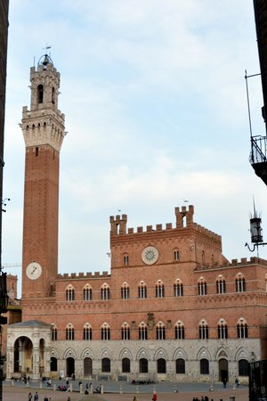 Piazza del Campo : The square and tower