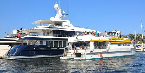 Water Taxi: Getting up close to the yachts of Fort Lauderdale.