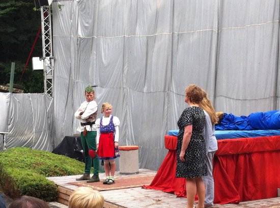 Freilichtbuehne Billerbeck: Peter Pan Sommerstück 2013