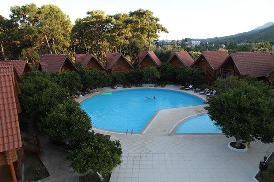 Woodline Hotel: havuz