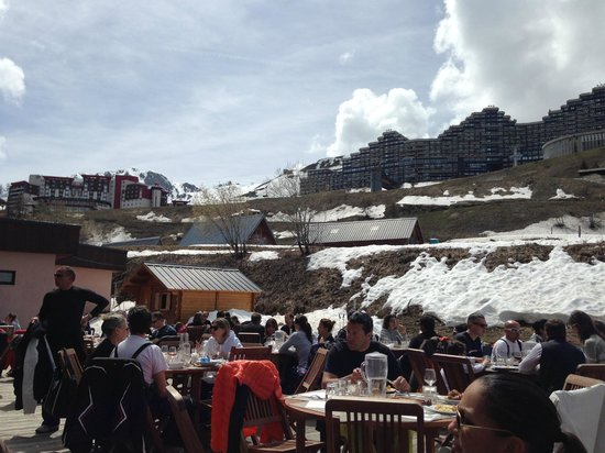 Club Med Aime la Plagne: terrasse