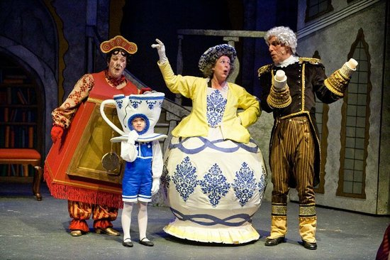 Cottage Grove, Oregón: Cottage Theatre's Beauty & the Beast, 2010