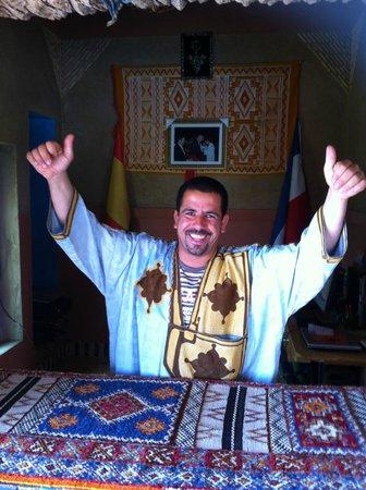 Kasbah Azalay Merzouga : the boss YOUSSEF...trop sympa