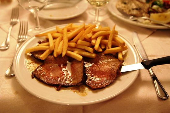Cafaggi: Simple Beef and Excellent Fries, April 2014