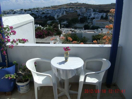 Villa Galini: View from our  veranda's