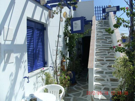 Villa Galini: Villa   Galini , steps
