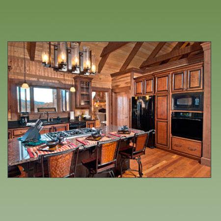 Cherokee Mountain Cabins: Sanctuary Kitchen