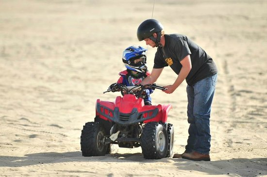 Steve's ATV Rentals: Our instructors are the best!!