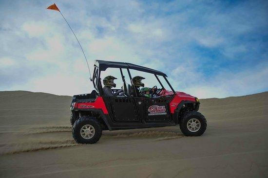 Steve's ATV Rentals: RZR in the dunes.