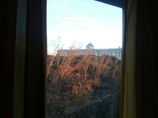 Principe Pio Hotel : Visão da janela